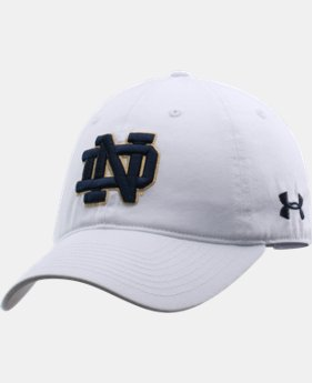 New to Outlet Women's Notre Dame Under Armour® Legacy Cap LIMITED TIME: FREE U.S. SHIPPING 1 Color $18.99