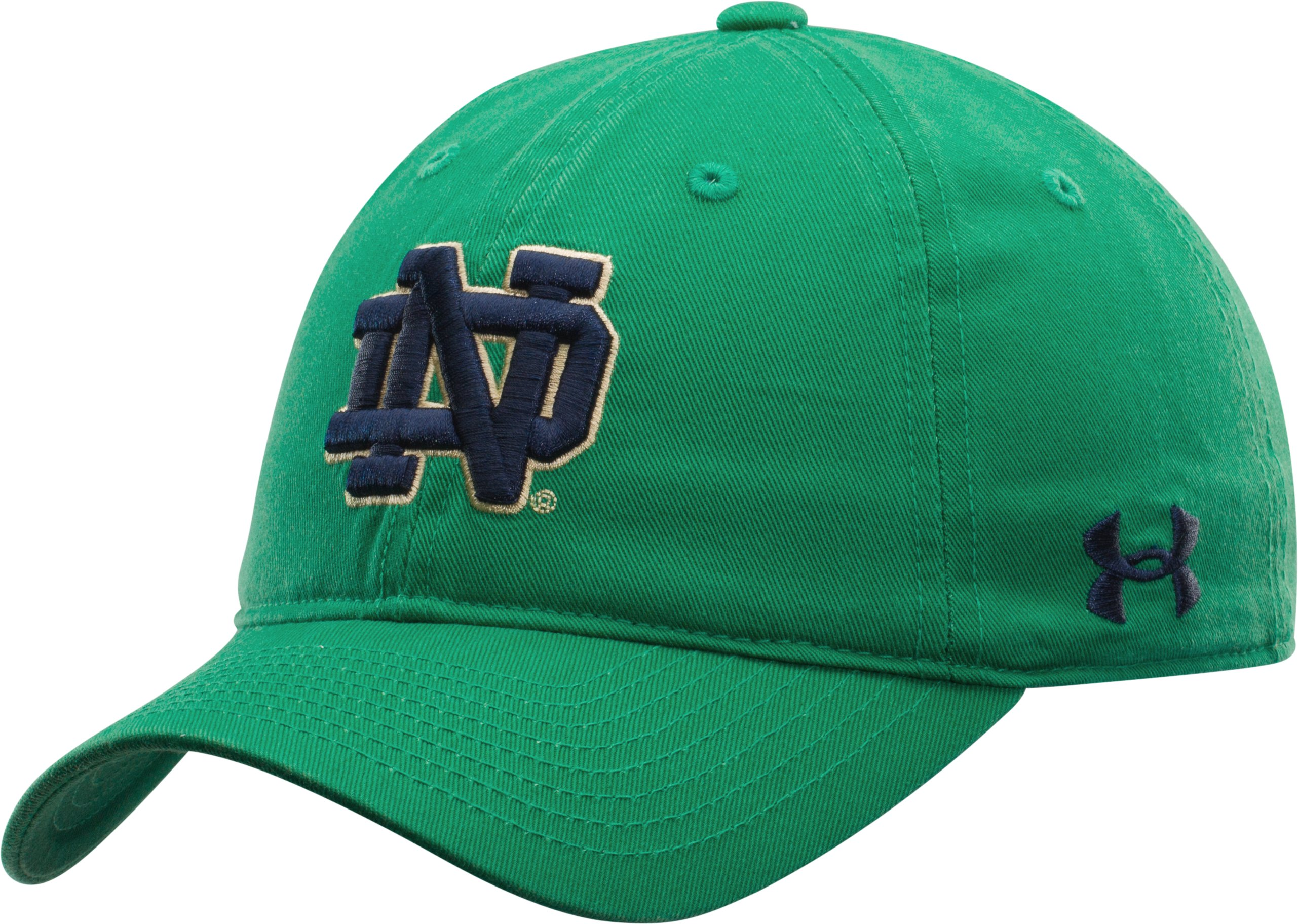 Women's Notre Dame Under Armour® Legacy Cap, Team Kelly Green, zoomed image