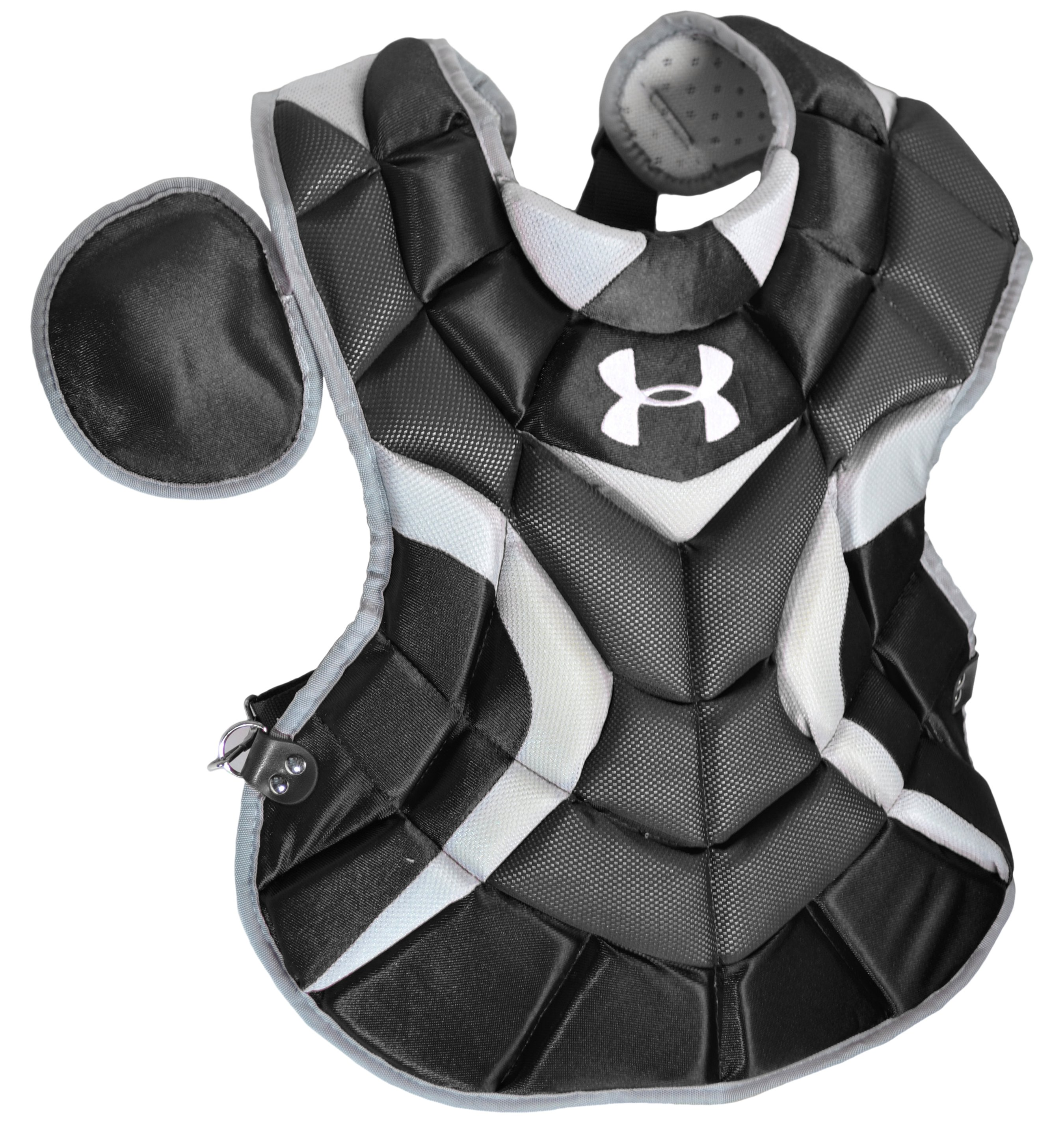 Youth UA Pro Catcher's Chest Protector (12-16), Black ,