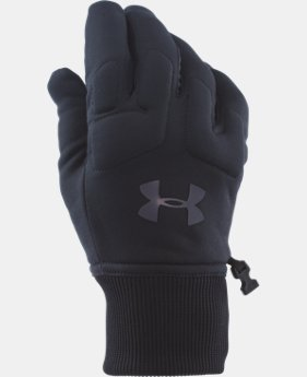 Men's UA ColdGear® Infrared Armour® Fleece Gloves LIMITED TIME OFFER 1 Color $24.49