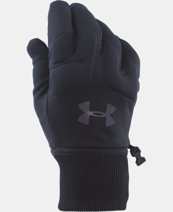 Men's UA ColdGear® Infrared Armour® Fleece Gloves LIMITED TIME: FREE U.S. SHIPPING 1 Color $34.99