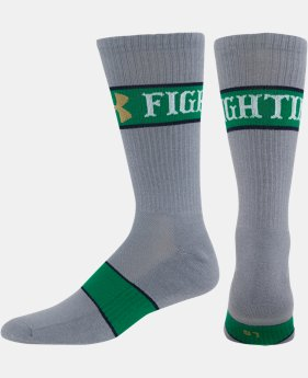 Kids' Notre Dame UA Crew Socks LIMITED TIME: FREE U.S. SHIPPING 1 Color $16.99