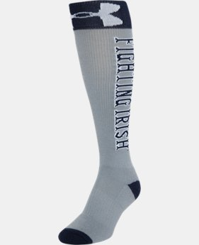 Kids' Notre Dame UA OTC Socks LIMITED TIME: FREE U.S. SHIPPING 1 Color $20.99
