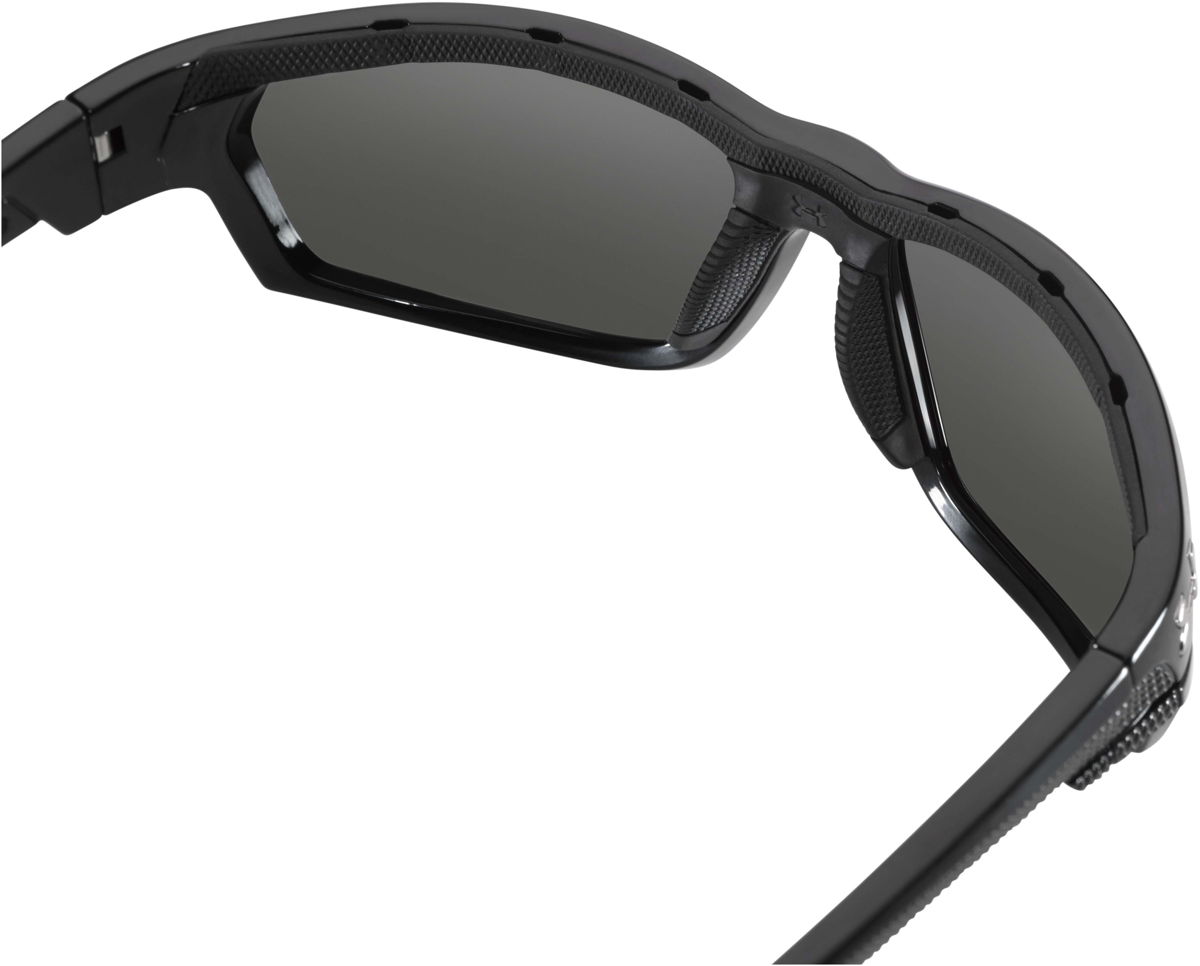 UA Hook'd Storm Polarized Sunglasses, Satin Black