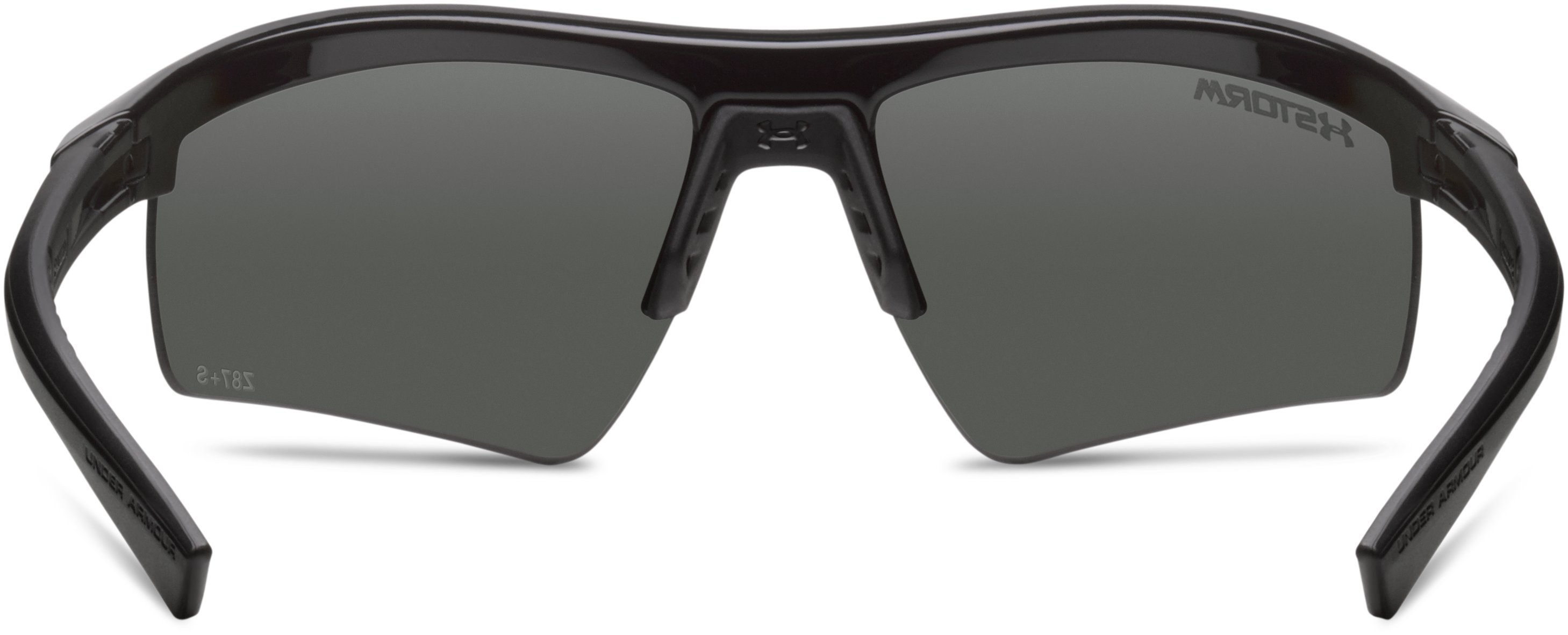 UA Core 2.0 Storm Polarized Sunglasses, Shiny Black,