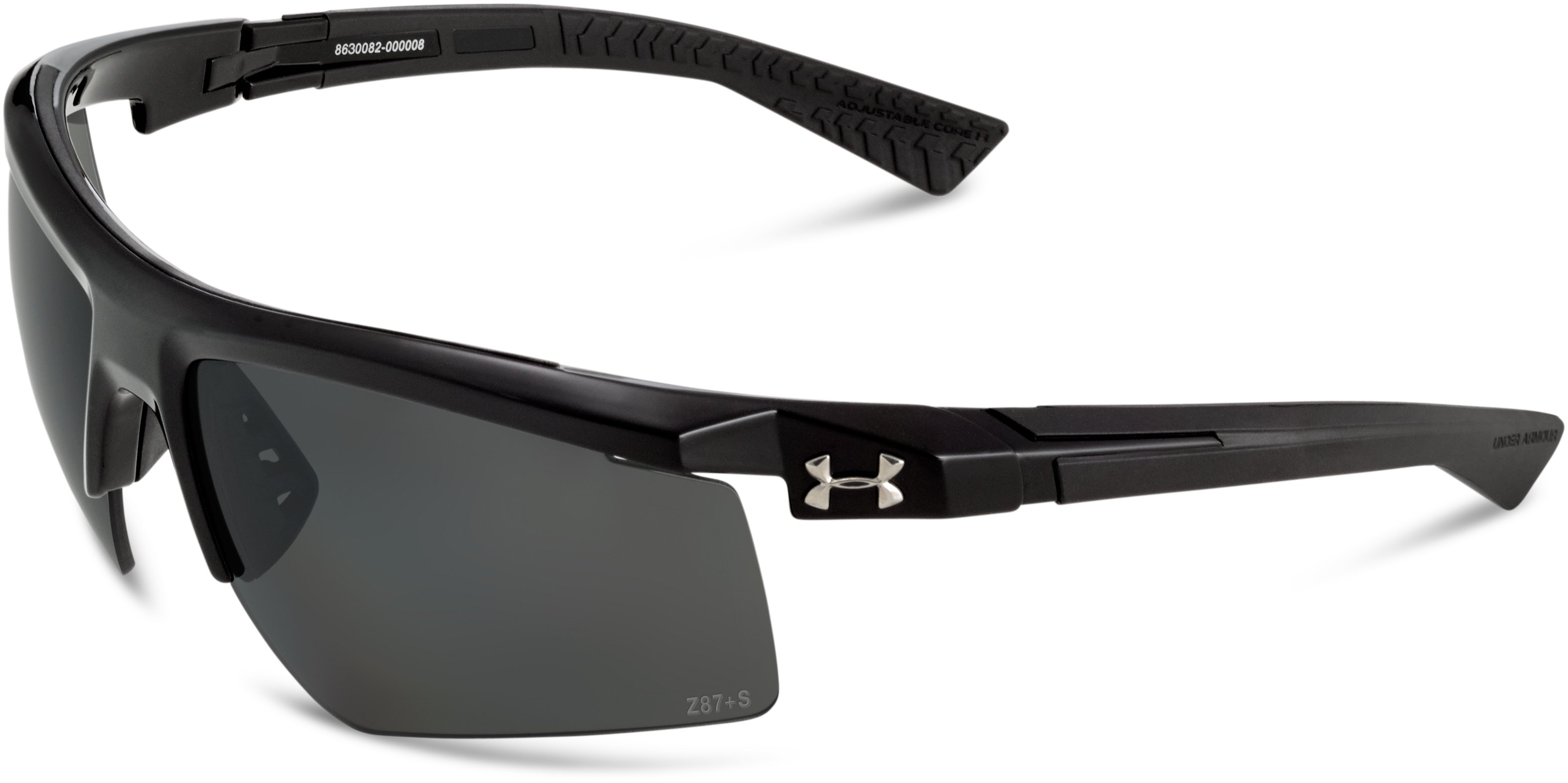 UA Core 2.0 Storm Polarized Sunglasses, Shiny Black
