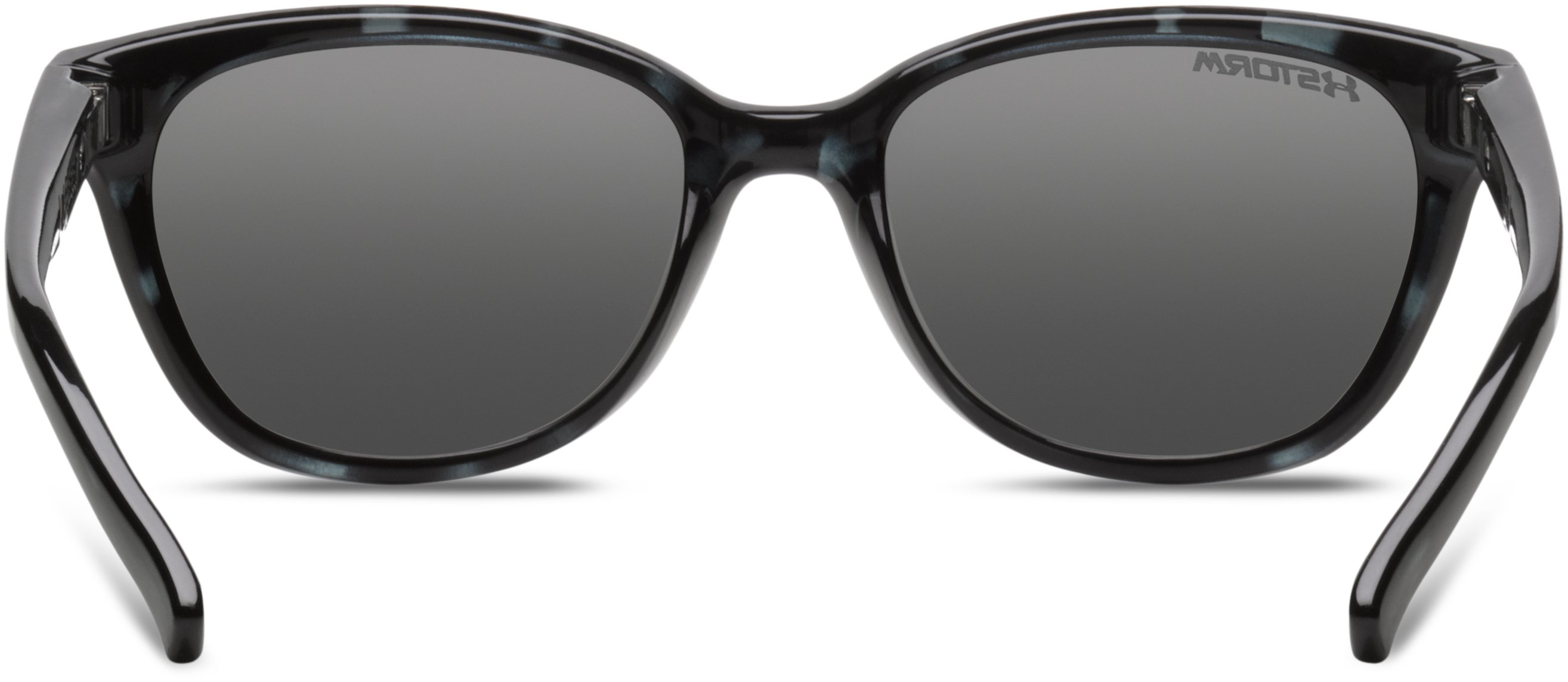 Women's UA Storm Perfect Sunglasses, SATIN CRYSTAL GRAY TORT, undefined