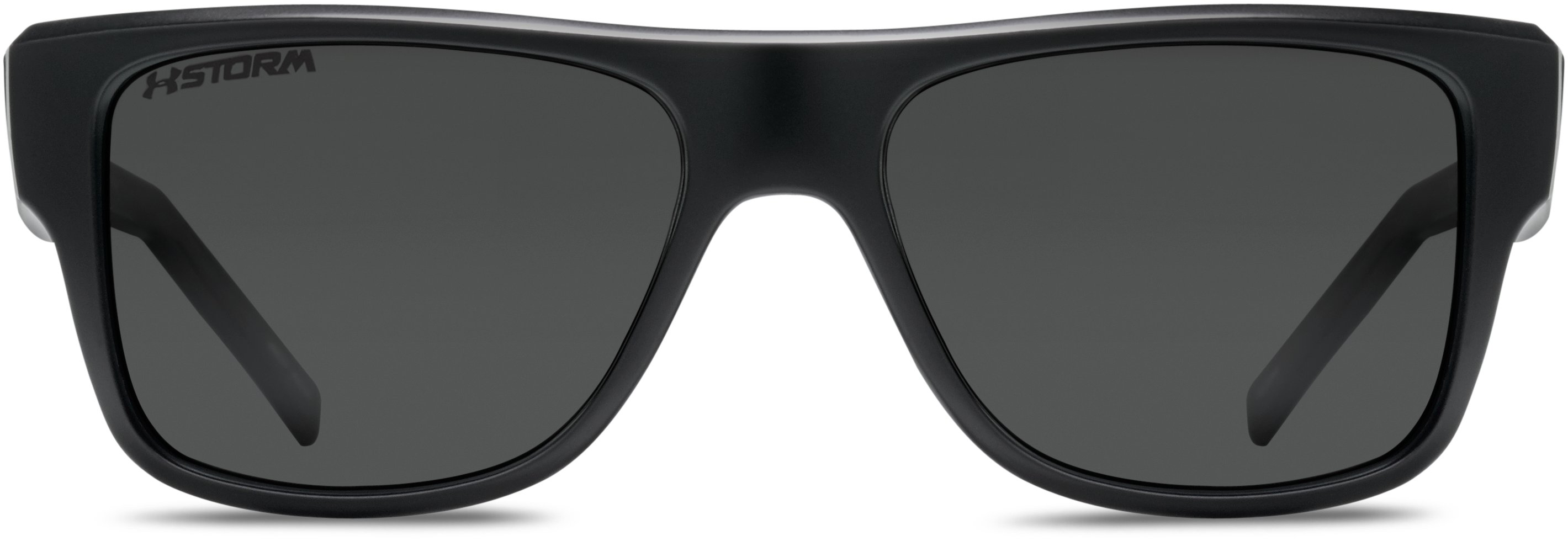 UA Regime Storm Polarized Sunglasses, Satin Black, undefined