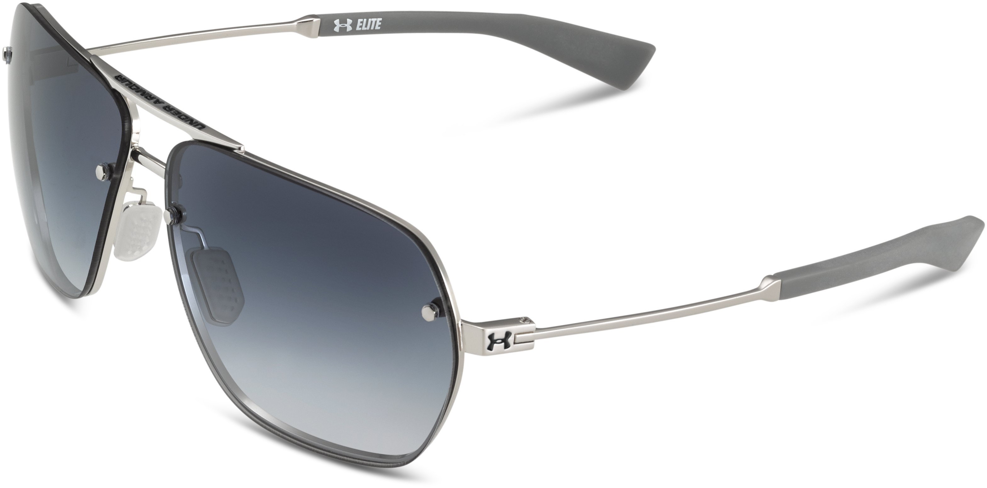 UA Hi-Roll Sunglasses, SHINY SILVER, undefined