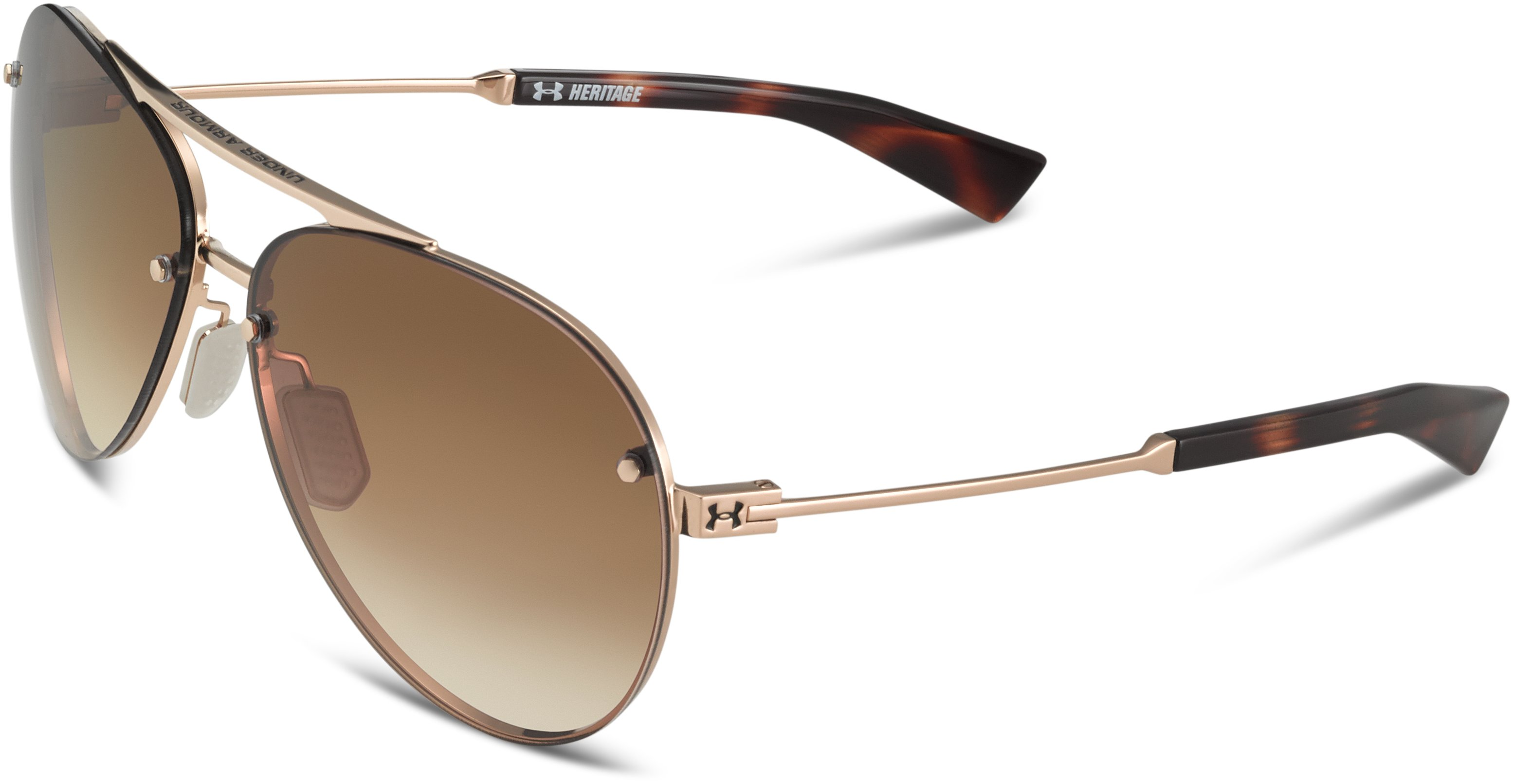 UA Double Down Sunglasses, SHINY GOLD