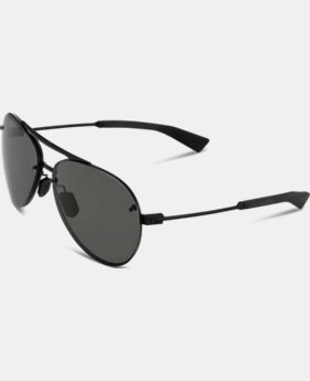 UA Double Down Storm Polarized Sunglasses  1  Color Available $184.99