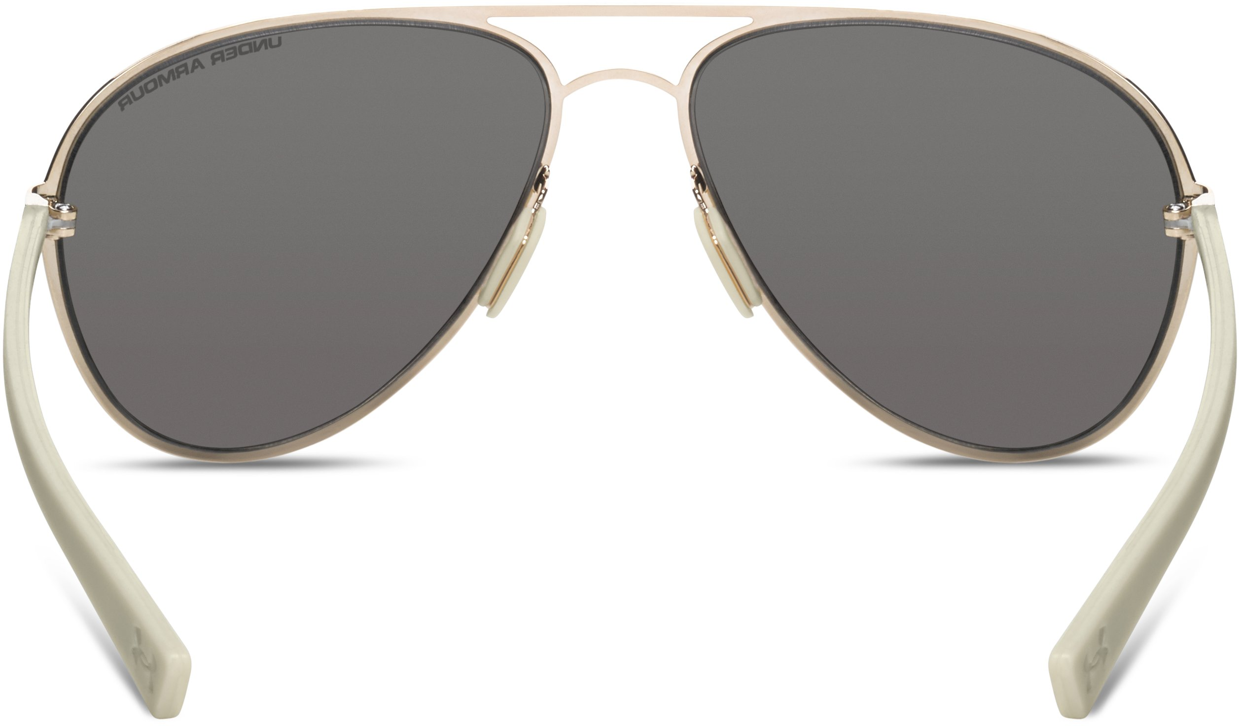 Women's UA Alloy TD Sunglasses, SHINY GOLD, undefined