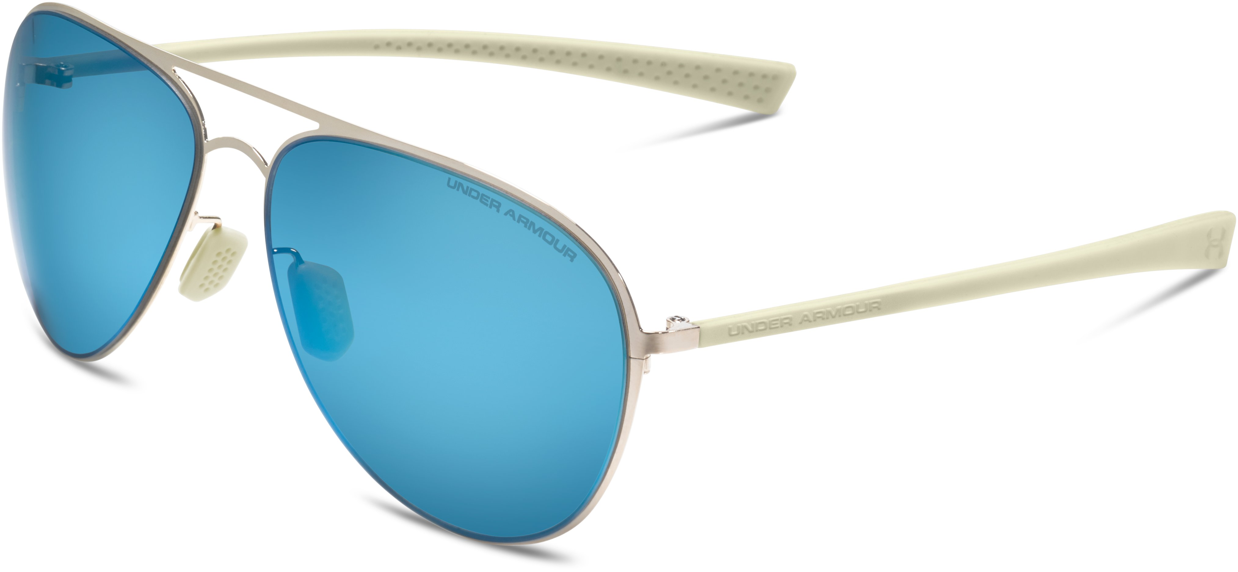 Women's UA Alloy TD Sunglasses, SHINY GOLD