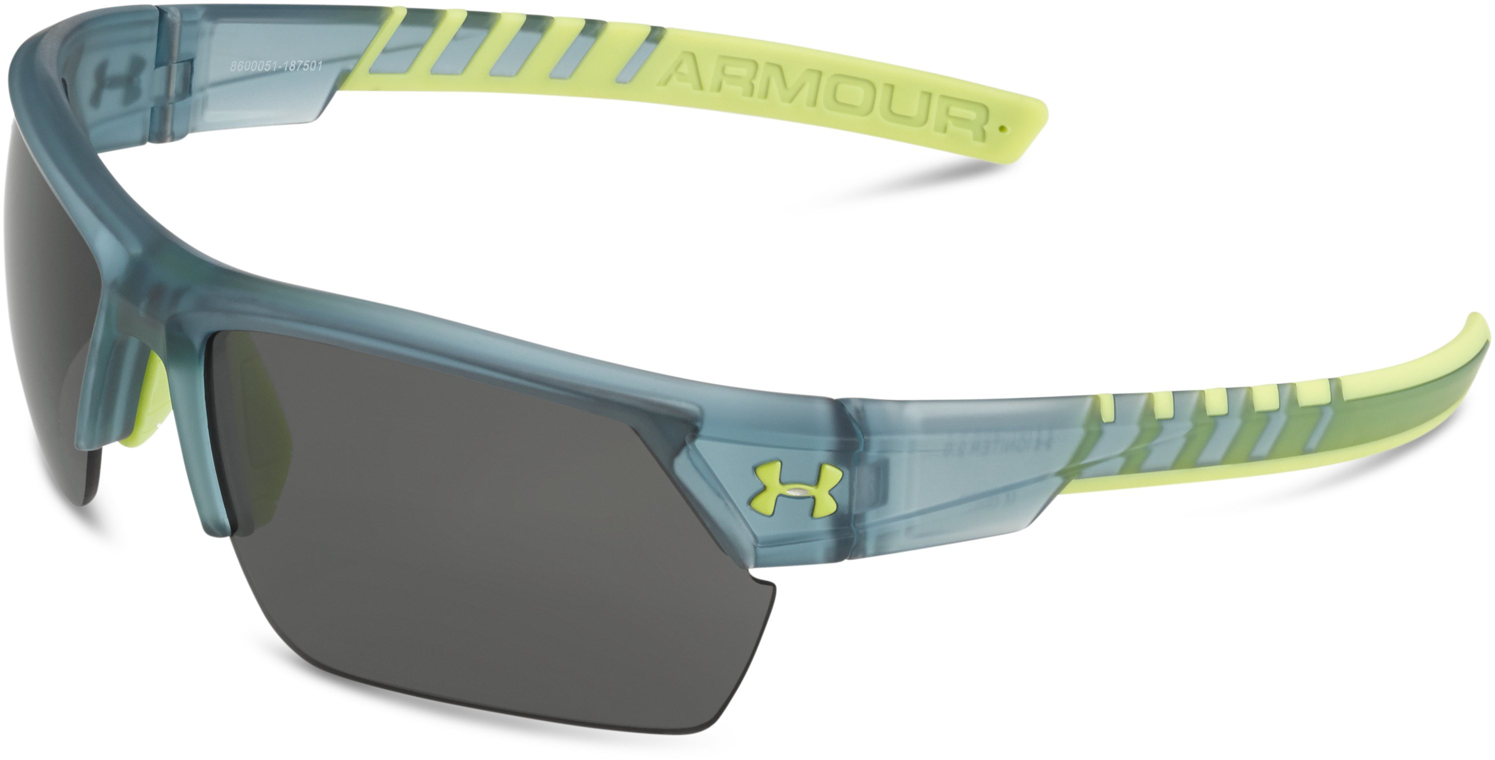 UA Igniter 2.0 Sunglasses, SATIN CRYSTAL GRAY, undefined