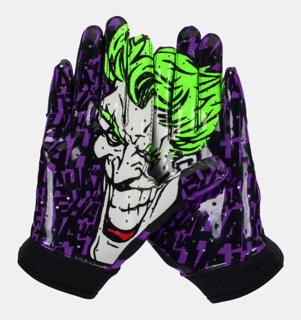 Boys  Under Armour® Alter Ego Joker F4 Football Gloves  34a3361863b1