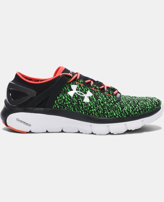 Men's UA SpeedForm® Fortis Graphic Running Shoes LIMITED TIME: FREE U.S. SHIPPING 1 Color $82.99