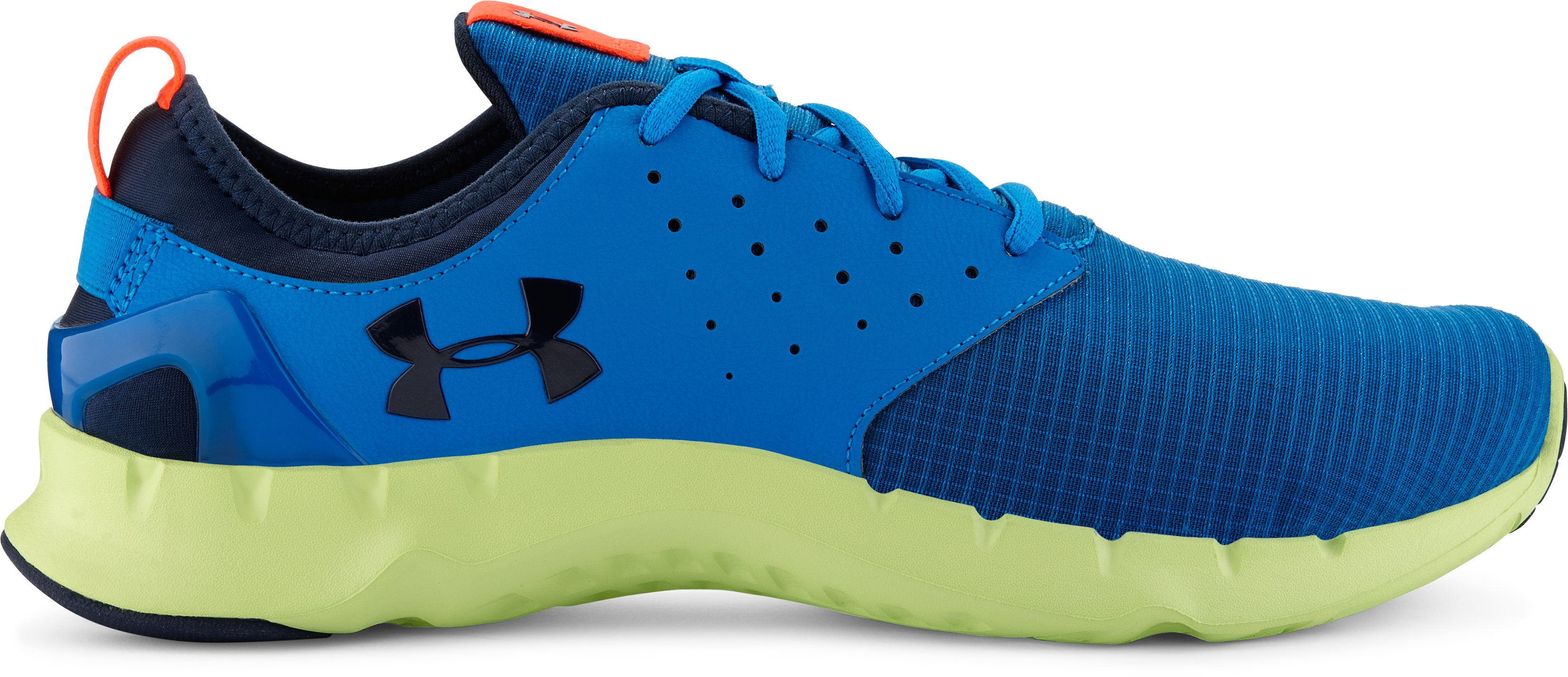 Men's UA Flow Grid Running Shoes, BLUE JET