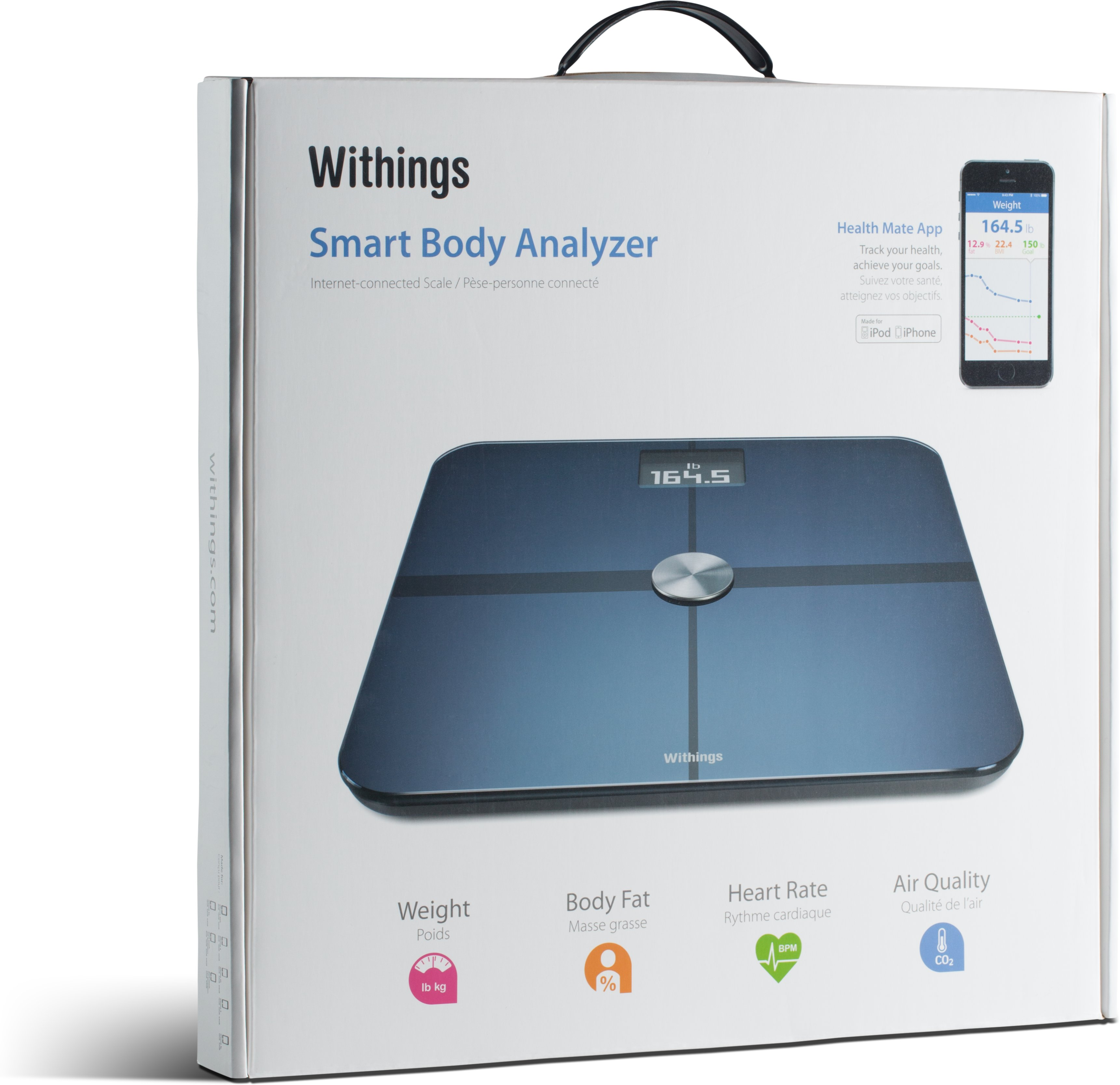 Withings® Smart Body Analyzer, Black