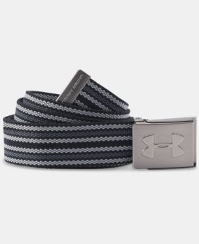 Men's UA Webbed Belt - 3 Pack