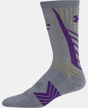 Boys' UA Undeniable Crew Socks – Curry One Edition