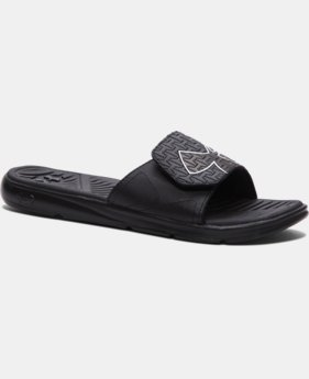 Men's UA ClutchFit™ Force Slides  2 Colors $31.99