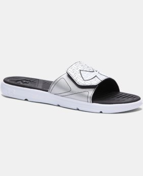 Men's UA ClutchFit™ Force Slides LIMITED TIME: FREE SHIPPING 1 Color $17.99