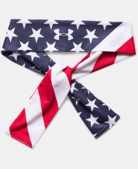 Women's UA 4th Of July Tie Headband   $14.99