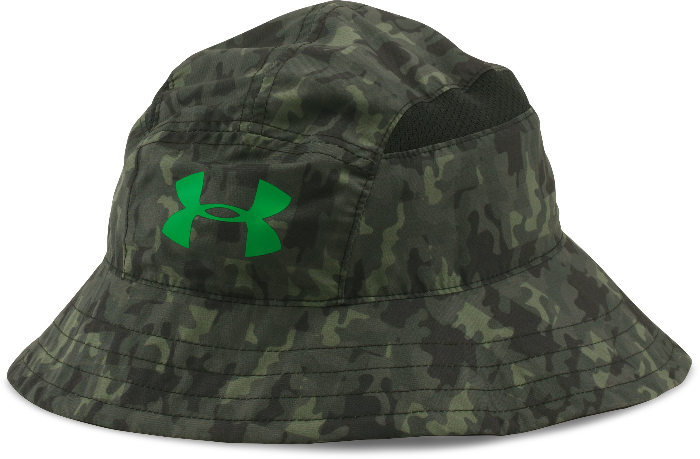 Boys' UA Switchback Bucket Hat, Black , zoomed image