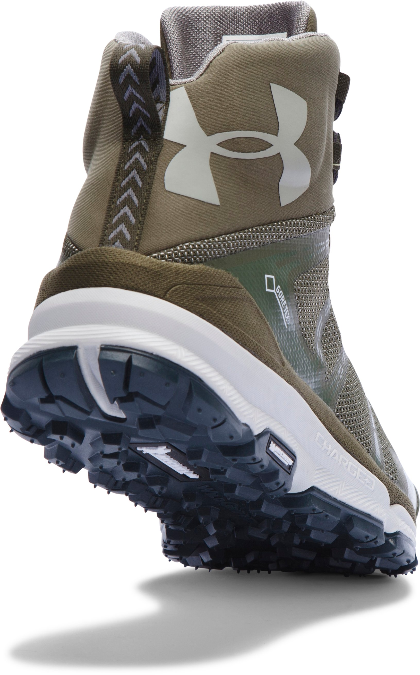 Men's UA Verge Mid GTX Hiking Boots, GREENHEAD, undefined