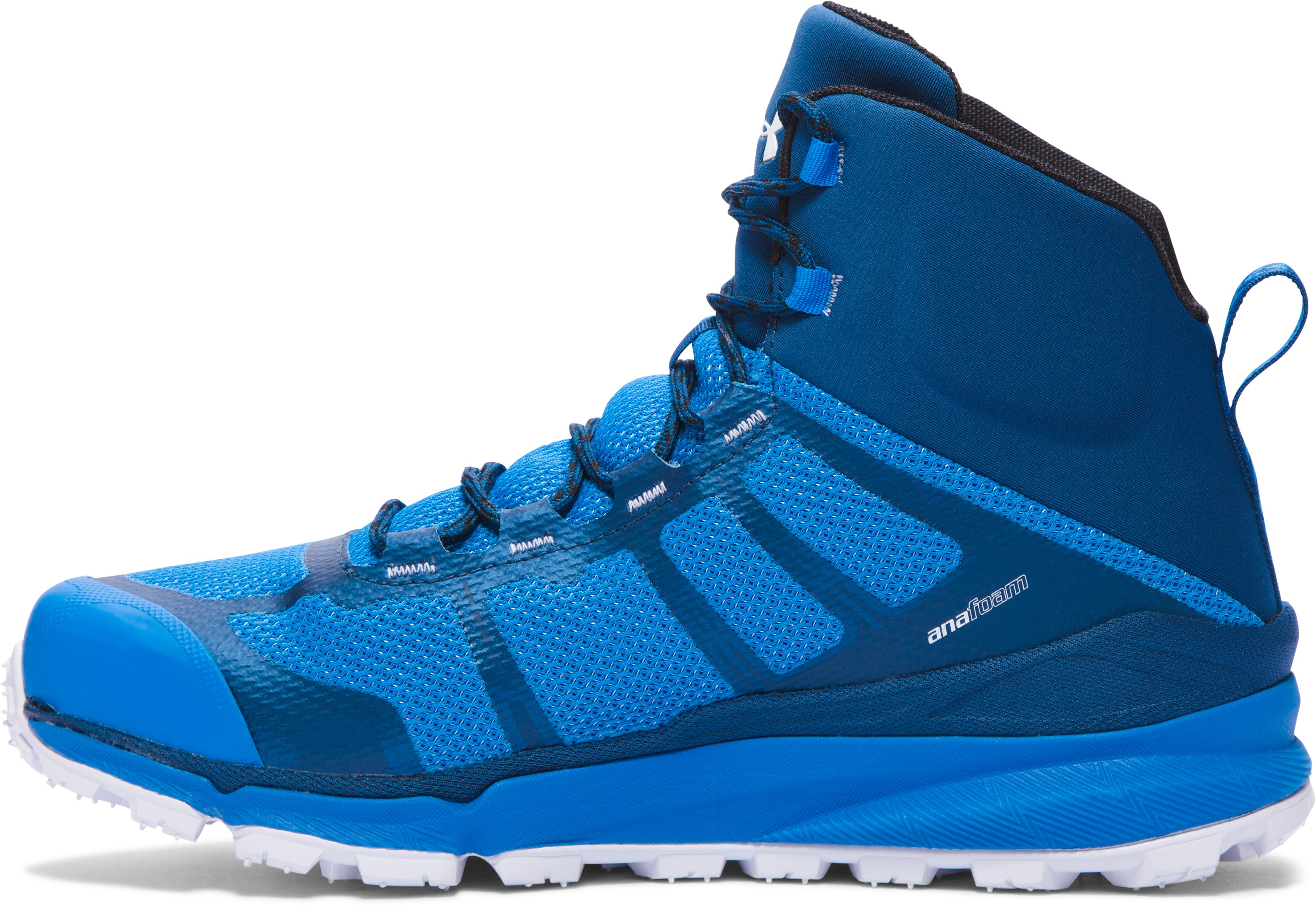 Men's UA Verge Mid GTX Hiking Boots, BLUE JET