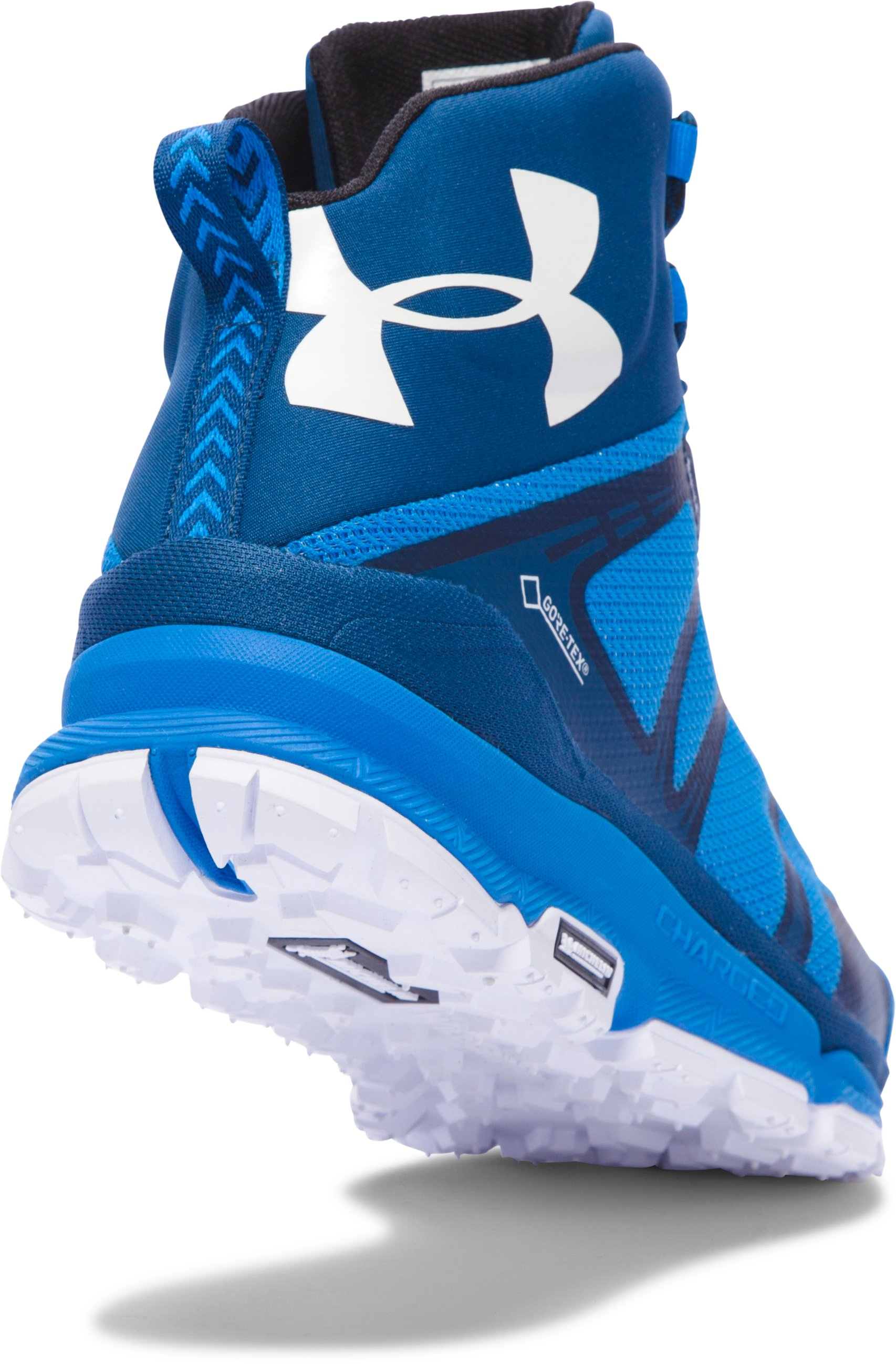 Men's UA Verge Mid GTX Hiking Boots, BLUE JET,