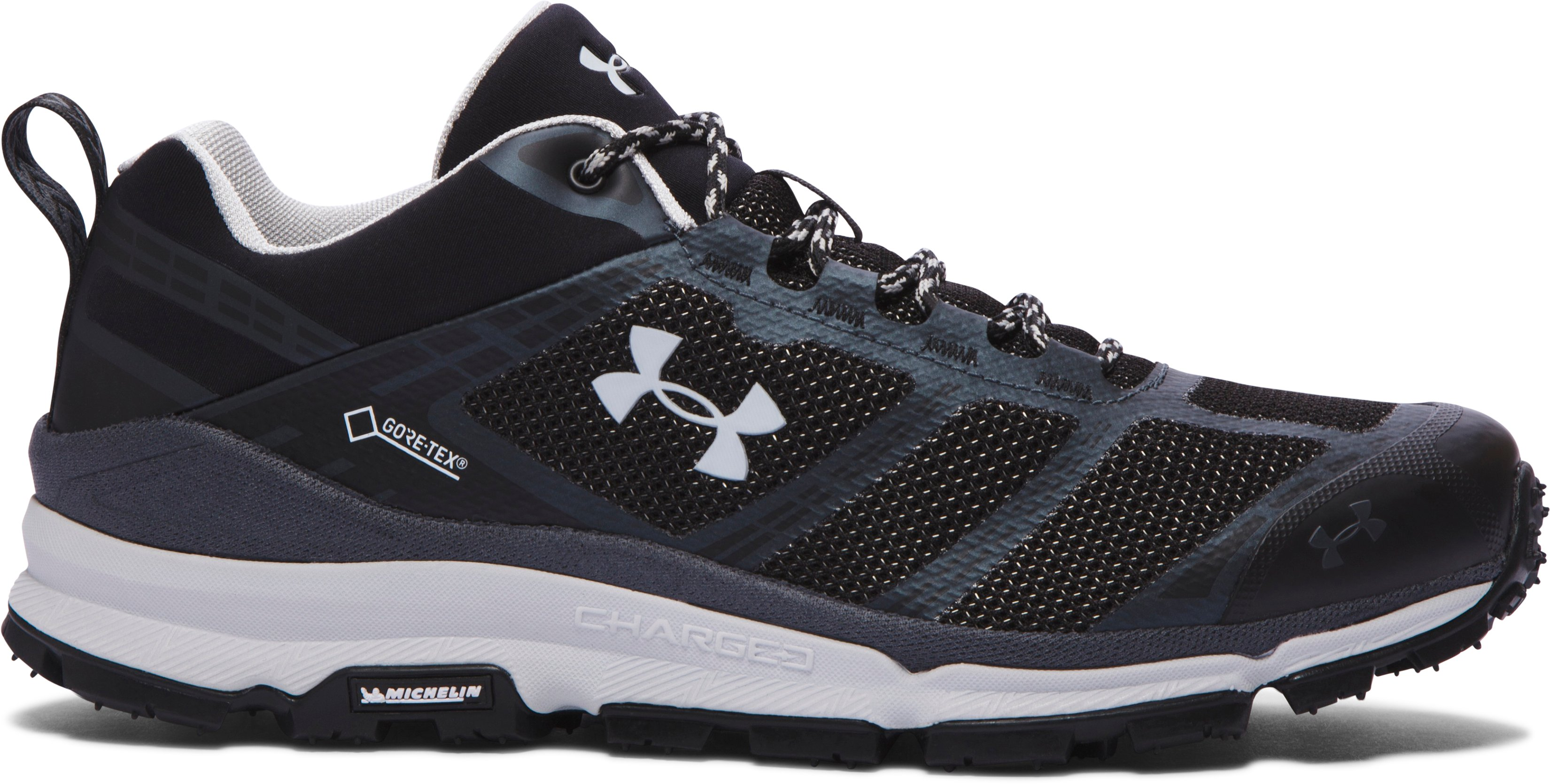 Men's UA Verge Low GTX Boots, Black , undefined