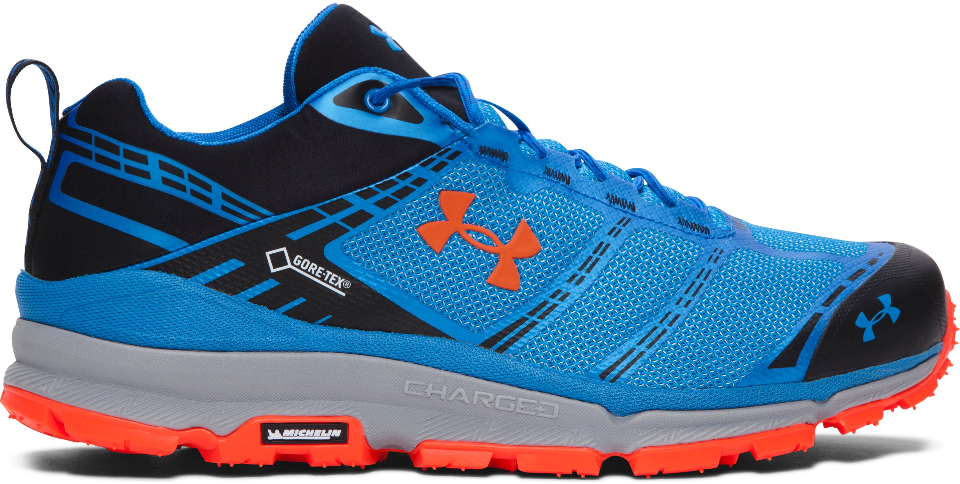 Men's UA Verge Low GTX Boots, BLUE JET, zoomed image