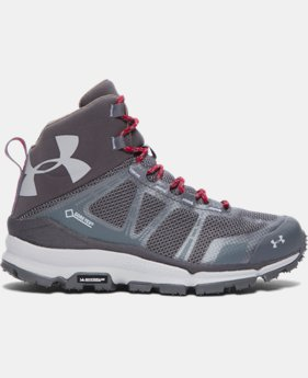 Women's UA Verge Mid GTX Hiking Boots   $127.99