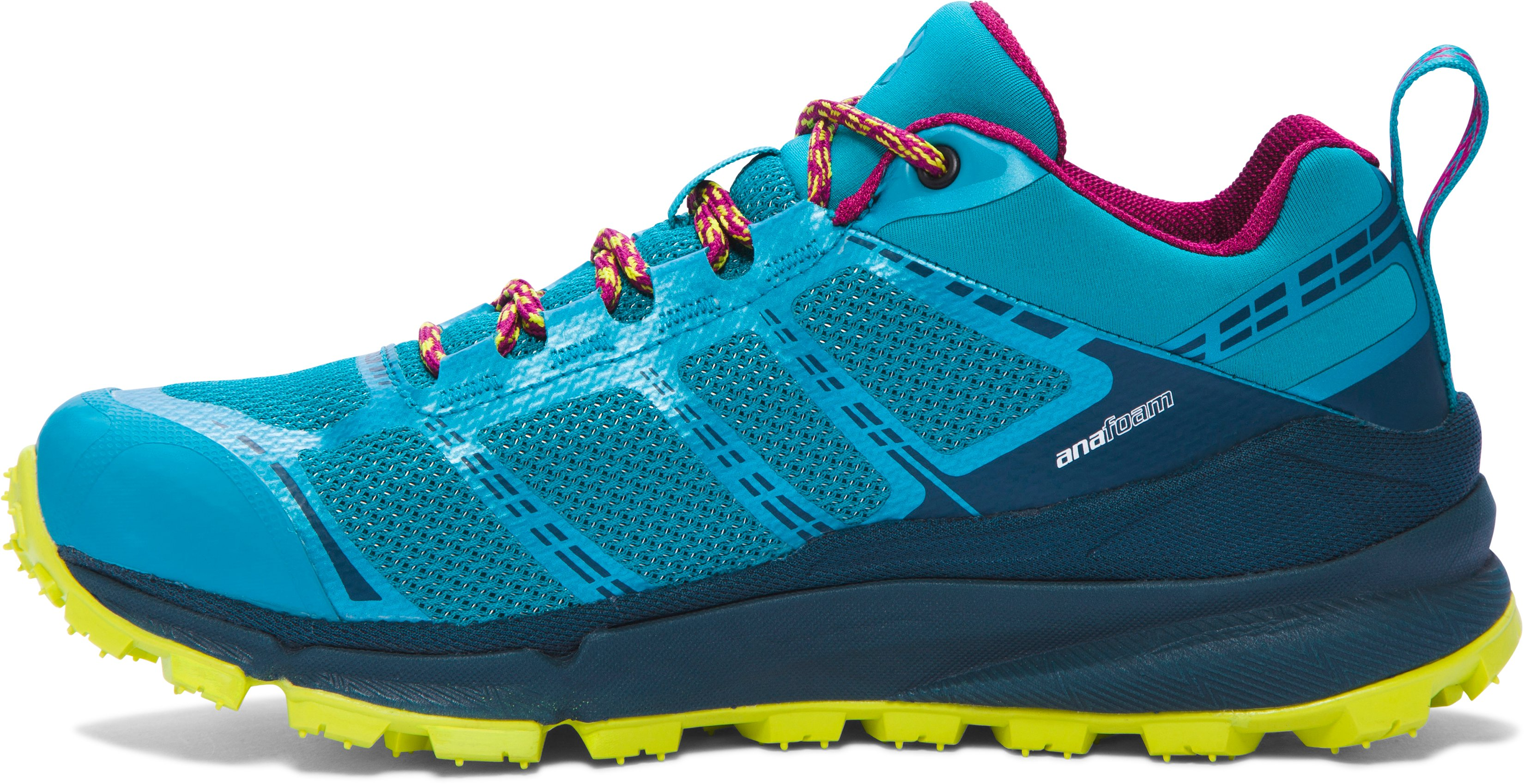 Women's UA Verge Low GTX Boots, SUBTROPICAL TEAL, undefined