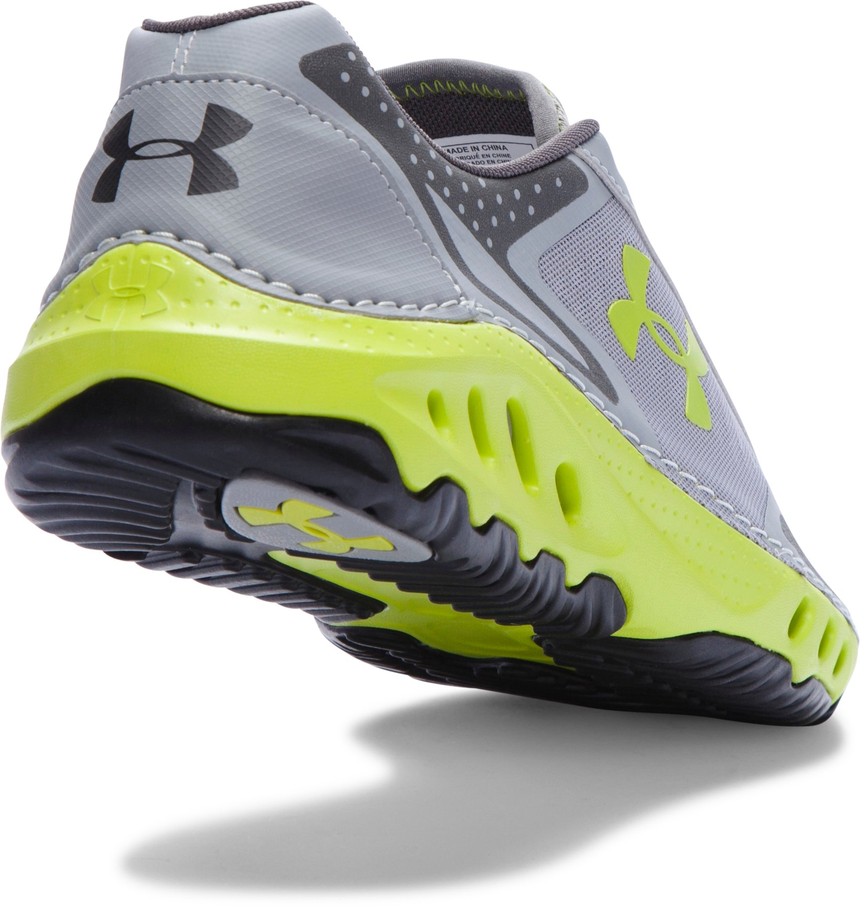 Men's UA Drainster Shoes, Steel