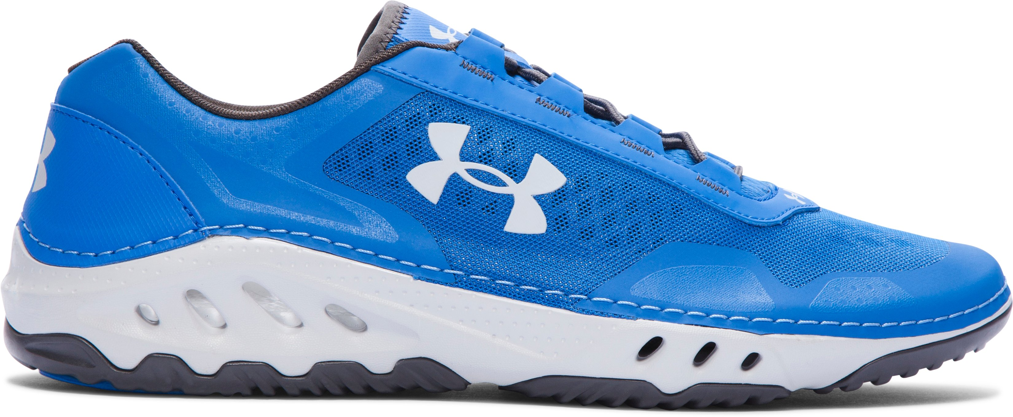 Men's UA Drainster Shoes, SUPERIOR BLUE, zoomed image
