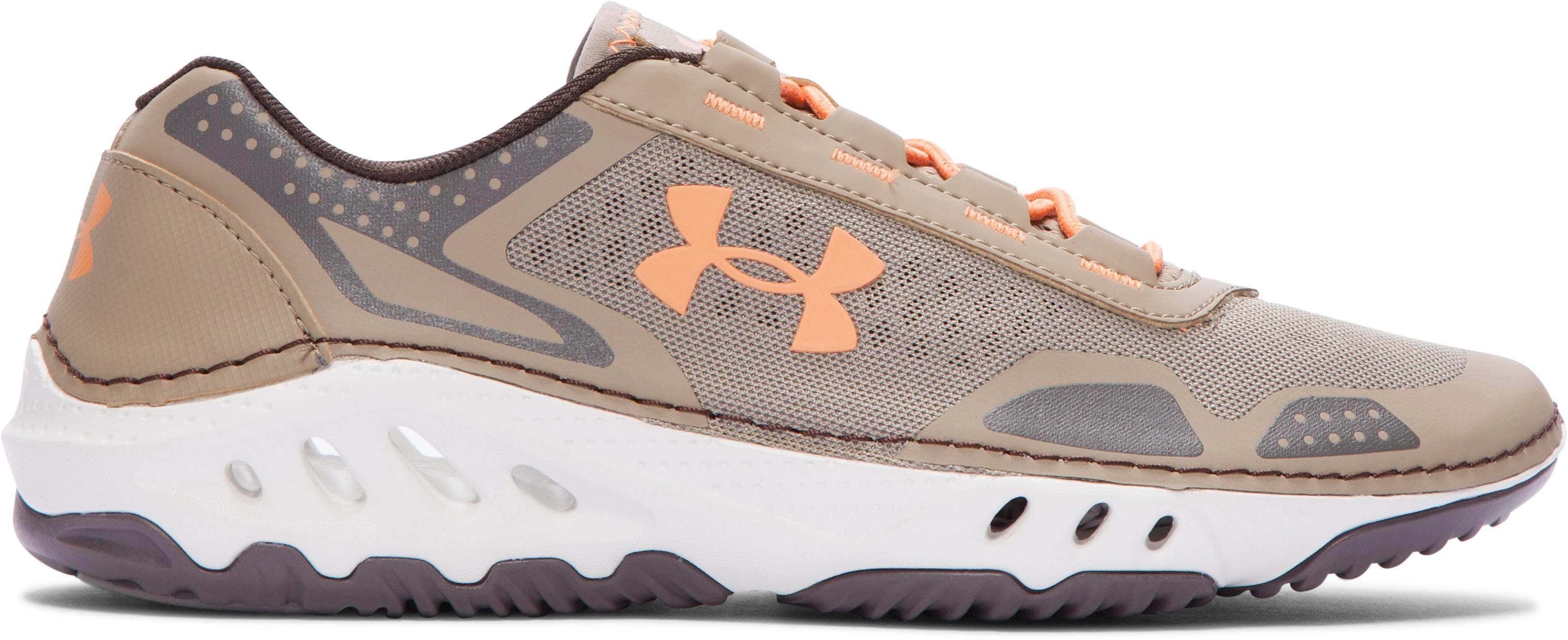 Women's UA Drainster Shoes, Canvas, zoomed image