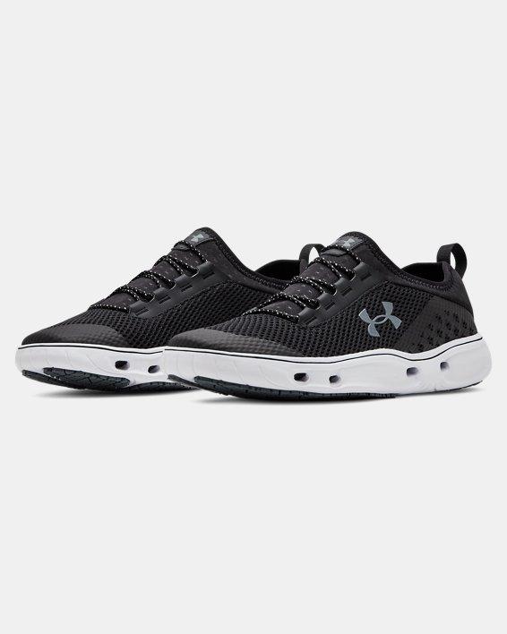 Men's UA Kilchis Shoes, Black, pdpMainDesktop image number 3