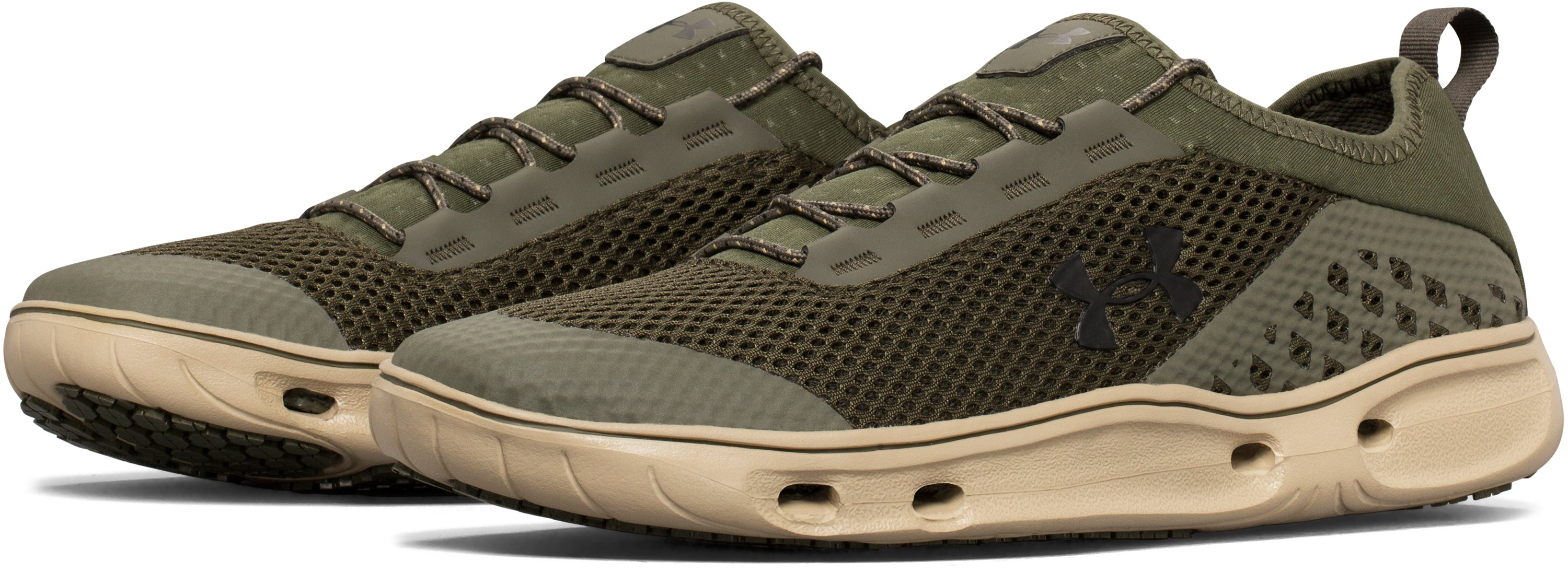 Men's UA Kilchis Shoes, SCREE BROWN, undefined
