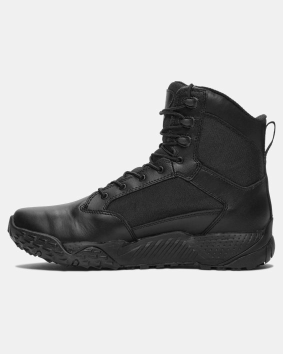 Men's UA Stellar Tactical Boots, Black, pdpMainDesktop image number 1