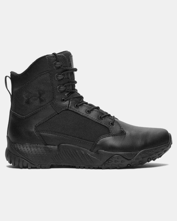 Men's UA Stellar Tactical Boots, Black, pdpMainDesktop image number 0