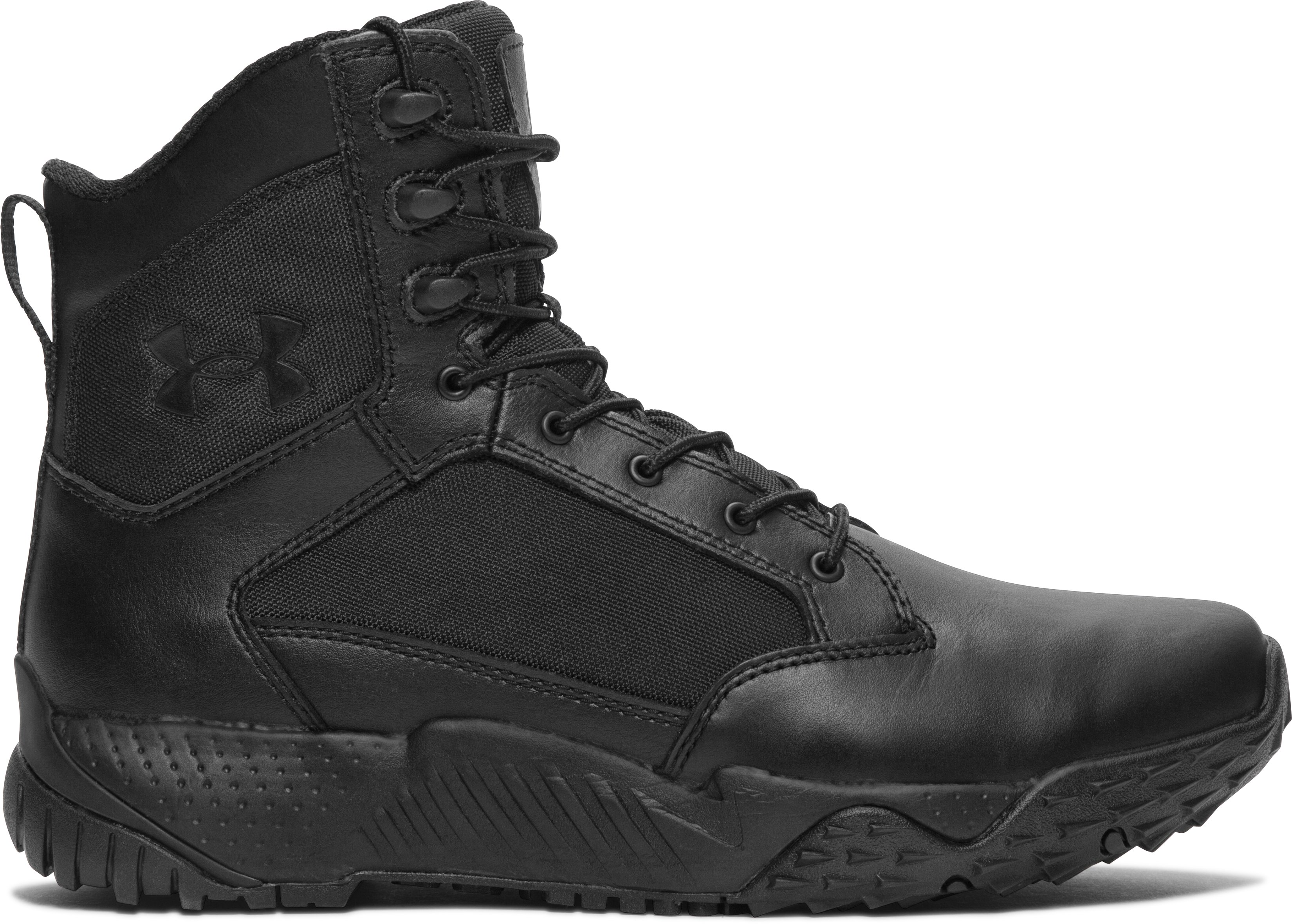 Men's UA Stellar Tactical Boots, Black ,