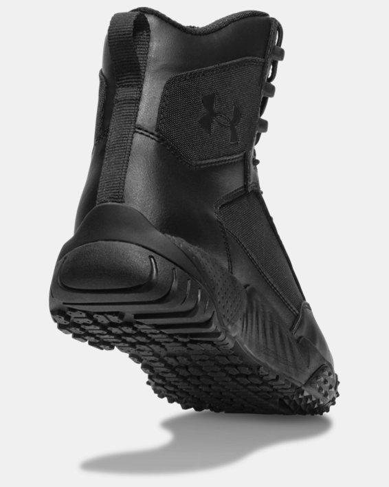 Men's UA Stellar Tactical Boots, Black, pdpMainDesktop image number 2