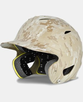 UA Digital Camo Batting Helmet