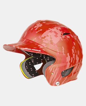 Kids' UA Digital Camo Batting Helmet LIMITED TIME: FREE U.S. SHIPPING 1 Color $41.99