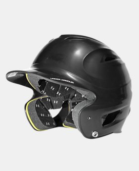 UA Solid Molded Batting Helmet  2 Colors $26.99