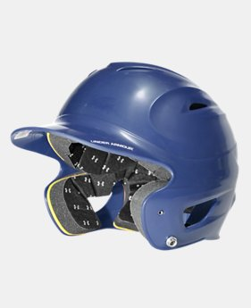 UA Solid Molded Batting Helmet  1 Color $26.99