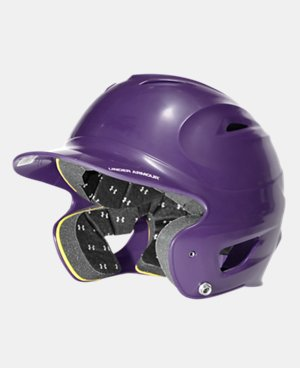New to Outlet UA Solid Molded Batting Helmet  1 Color $20.24