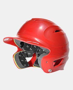 UA Solid Molded Batting Helmet